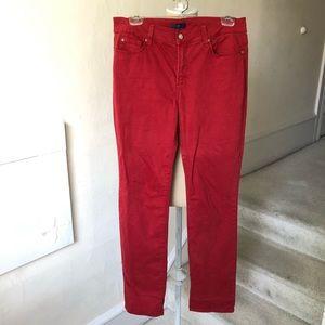 NYDJ Straight Leg Lift Tummy Tuck Technology Jeans
